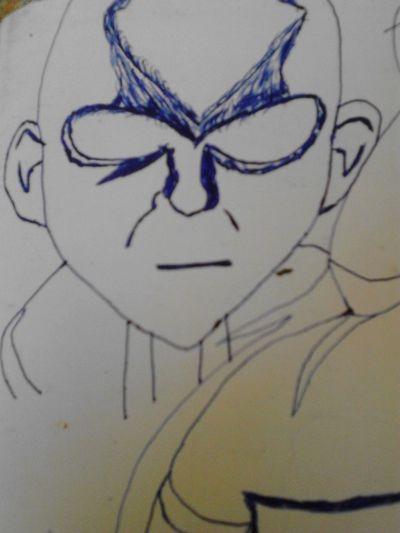 Avatar Manga Drawing