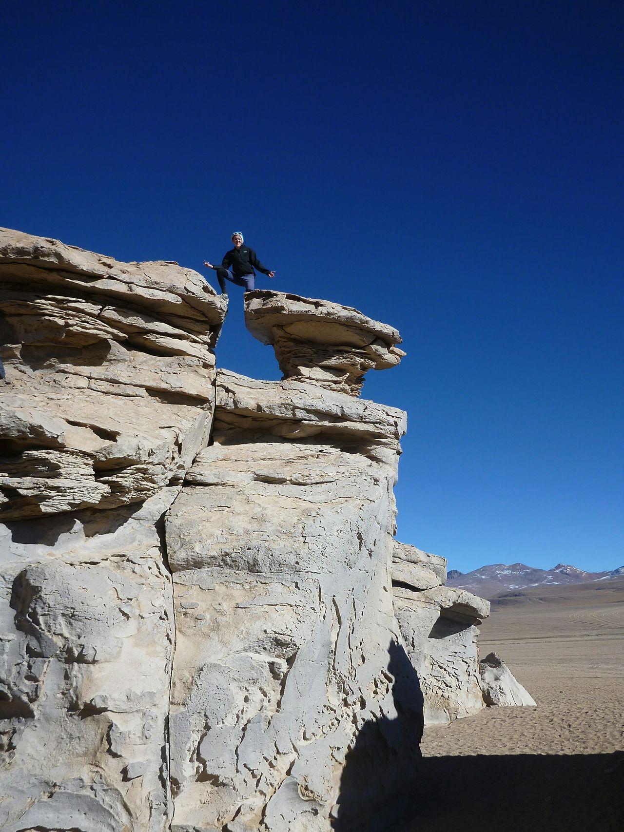 Adventure Club Salar De Uyuni Rocks Scrambling