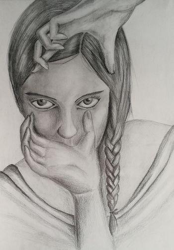 Drawing Drawingtime Drawingpencil Pencil Pencil Art Pencilwork Woman Eyes Matitabiancoenero Matita Disegno Disegno Matita Disegnofinito