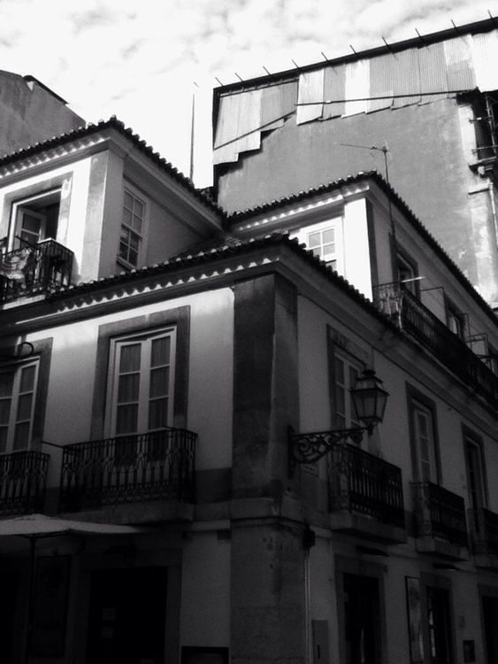 blackandwhite at Baixa Chiado by Joker
