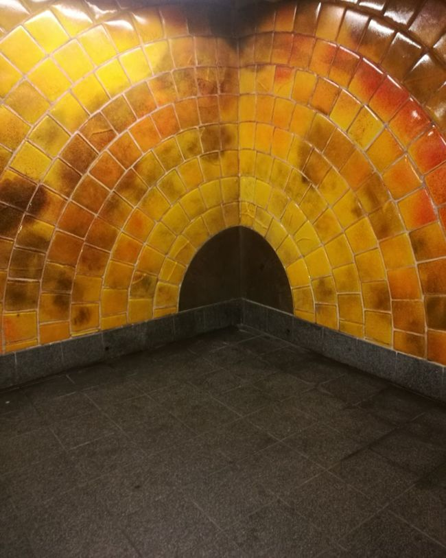 Paint The Town Yellow Art Is Everywhere ArtOnTheWall Subwayart Newyorkcity