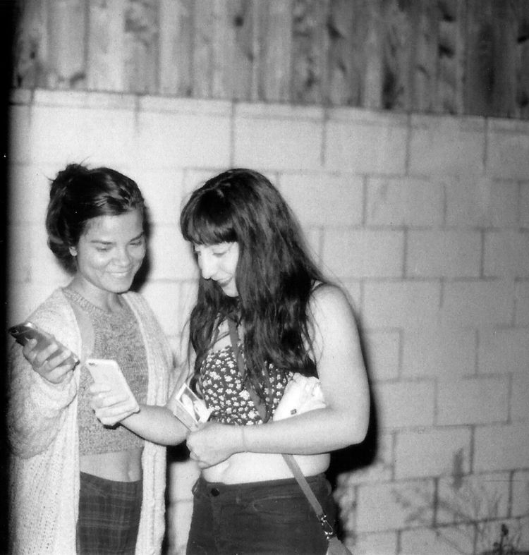 Bestfriend Young Women Black & White 35mm Film Photography Film Is Not Dead Kentmere100