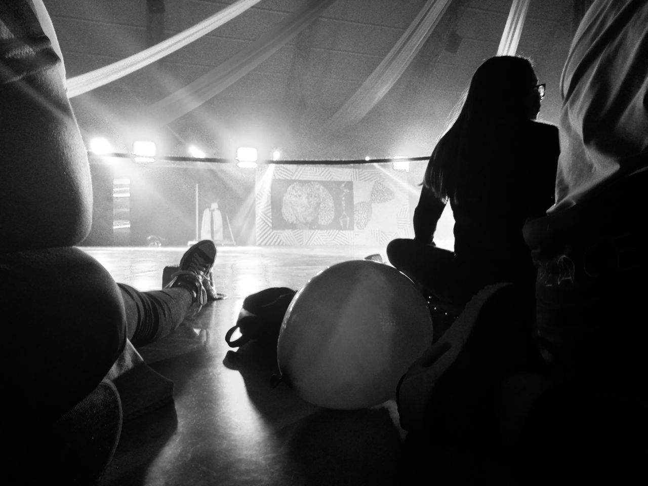 Indoors  People Crowd Music Adult Young Adult Audience Nightlife Concert Audience And Artist Point Of View Festival Balloon Blackandwhite Black And White Feet Lights Party The Great Outdoors - 2017 EyeEm Awards The Photojournalist - 2017 EyeEm Awards The Street Photographer - 2016 EyeEm Awards Live For The Story Popular Music Concert Adults Only WeekOnEyeEm