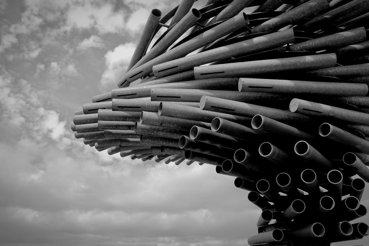 The Singing Ringing Tree in Burnley, Lancashire Singingringingtree Burnley England Landmark Sculpture Wind Sculptures Architecture The Architect - 2015 EyeEm Awards Amazing Architecture Shades Of Grey