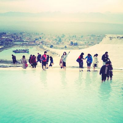 Stopping by at pamukkale by Vierra Lee