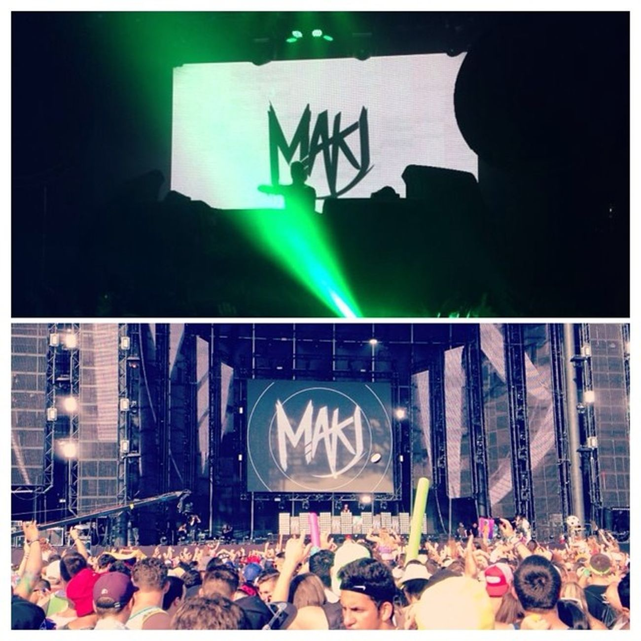 So grateful I had the chance to see this man twice! He started it all! 🙌 Makj Digitaldreams