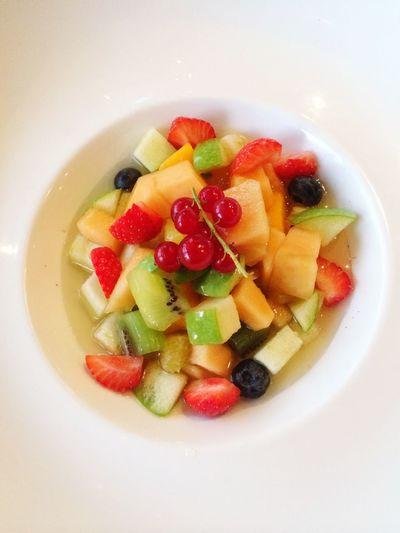 Délicieux salad de fruits Enjoying Life Zen Diet Dessert Fruit