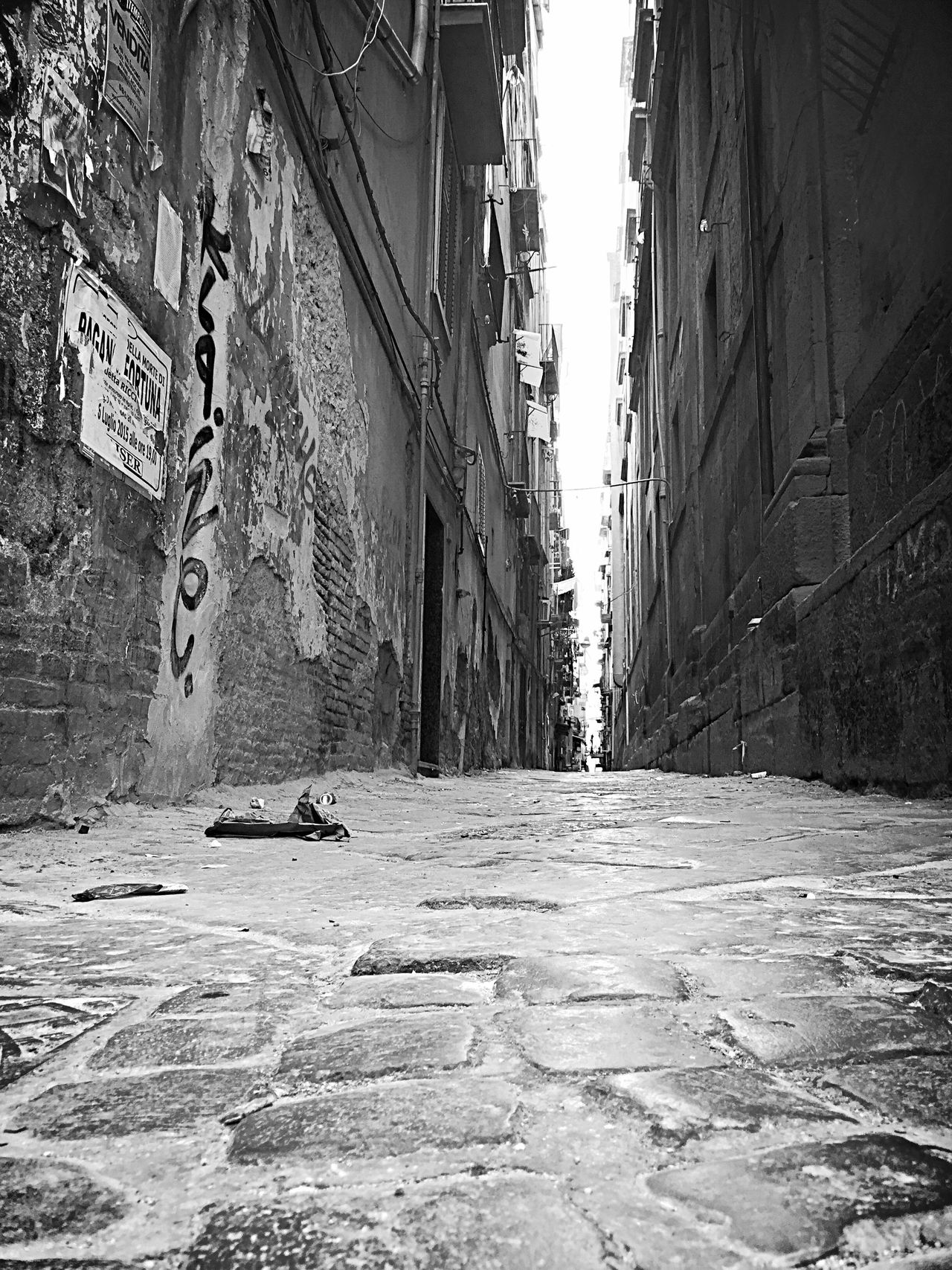 Napoli Scorciditalia Blacj And White Naples, Italy