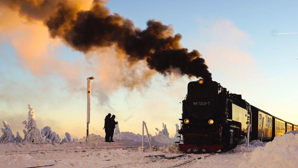 Brocken Brockenbahn Landscape Sonyalpha Wanderlust Winter Wonderland First Eyeem Photo