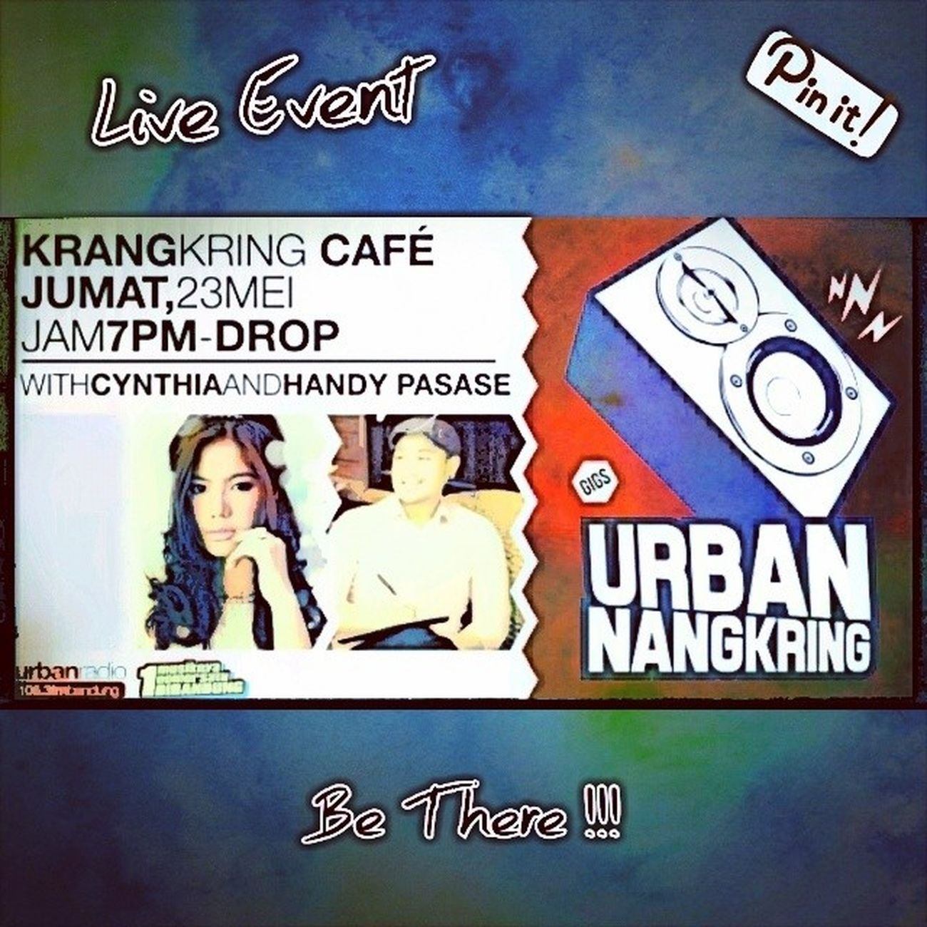 LiveEvent HandyPasase KrangKringCafe Bandung Today