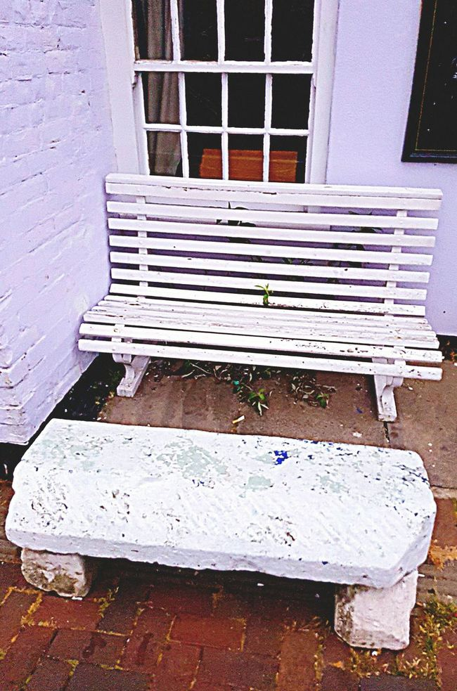 A bench with such character doesn't need to be sat upon! Weymouth Dorset Bench Pub Bench Outside Photography Just Photography Plain & Simple No Persons