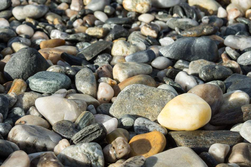 Beautiful stock photos of norway, Abundance, Beach, Full Frame, Large Group of Objects