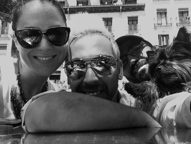 Encuentros madrileños... Blackandwhite Portrait Good Atmosphere Hi Madrid!!!