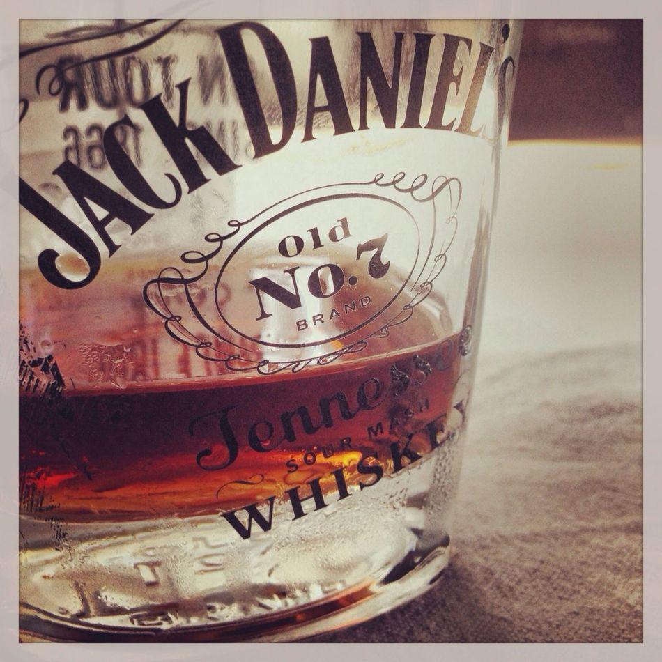 Jack Daniels Enjoying The Sun