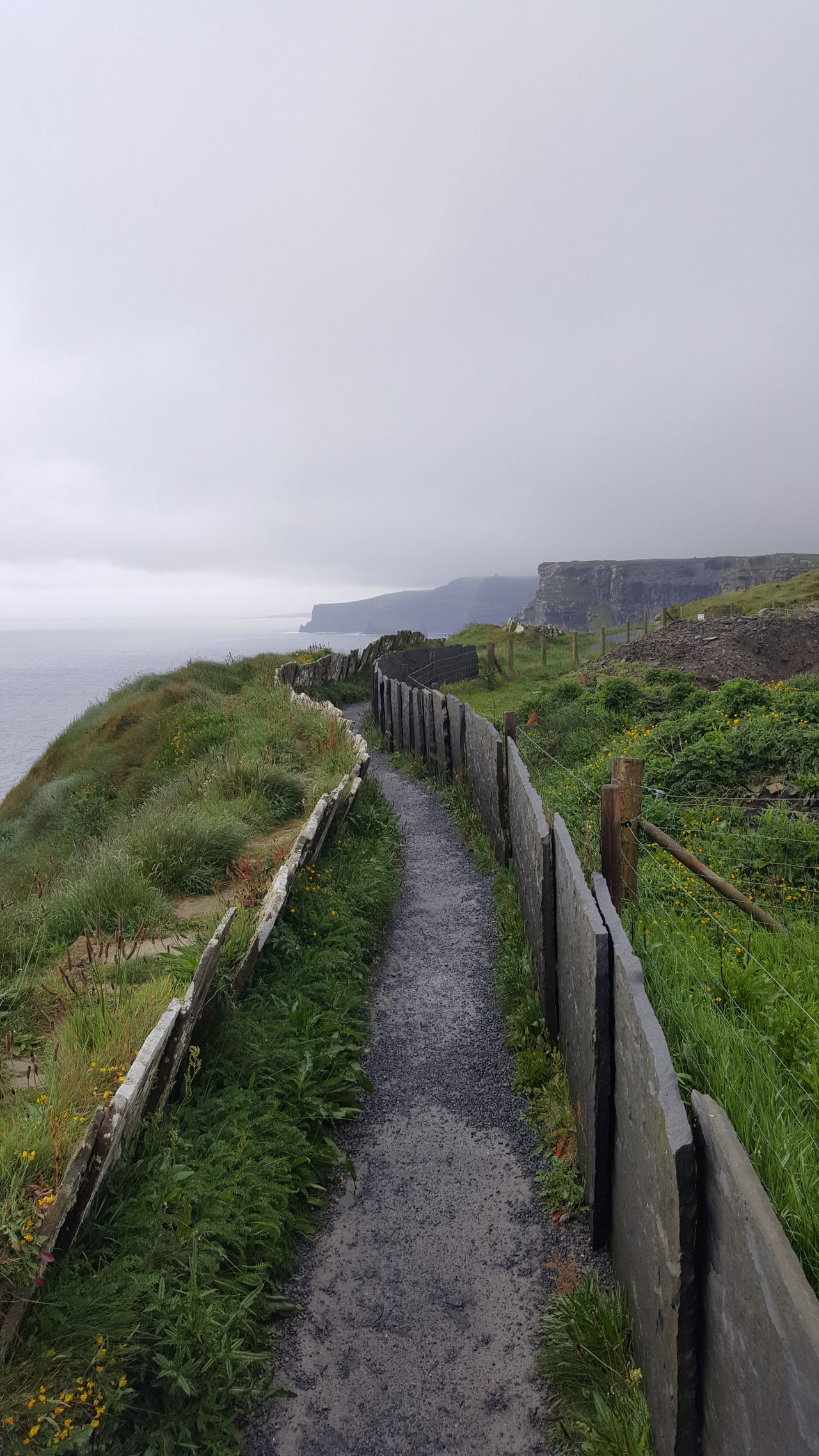 Sea Landscape Tranquility Horizon Over Water Rural Scene Outdoors Beauty In Nature Scenics Travel Destinations Irleand Cliffs Cliffsofmoher Agriculture Day No People Beach Nature Sky Grass