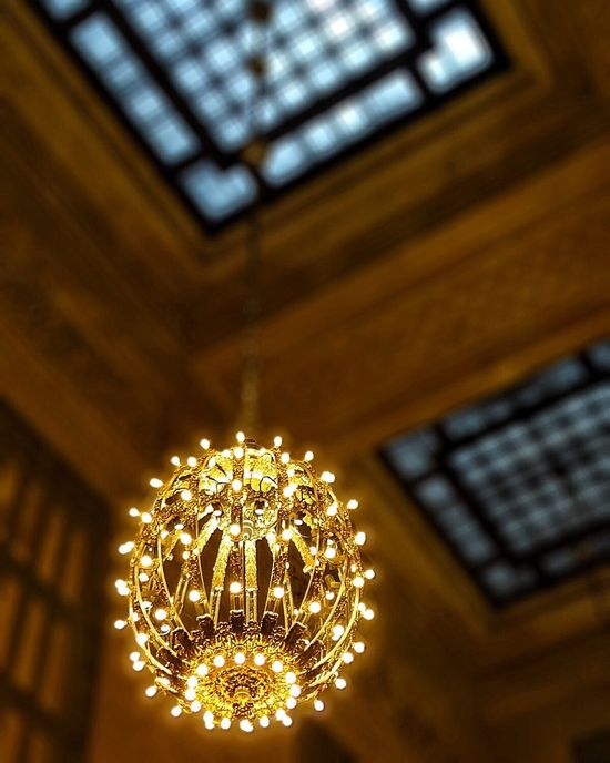 Light Chandalier Lamp Grand Central Station