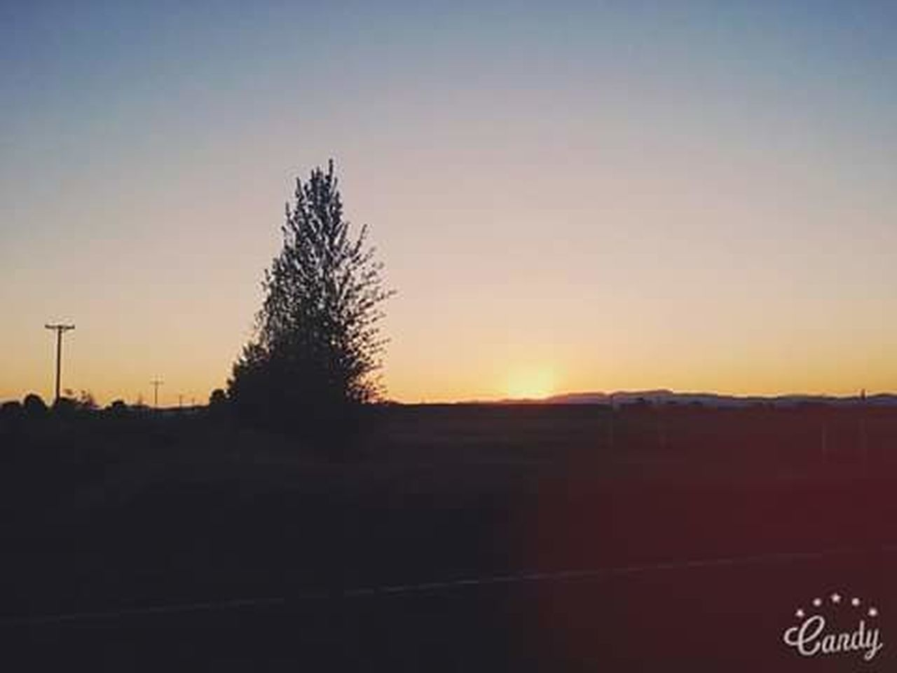 sunset, silhouette, beauty in nature, tranquility, tree, nature, no people, sky, scenics, outdoors, day