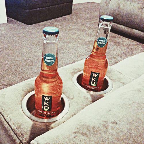 Drinks from home! WKD Enjoying Life Drinks Yummy