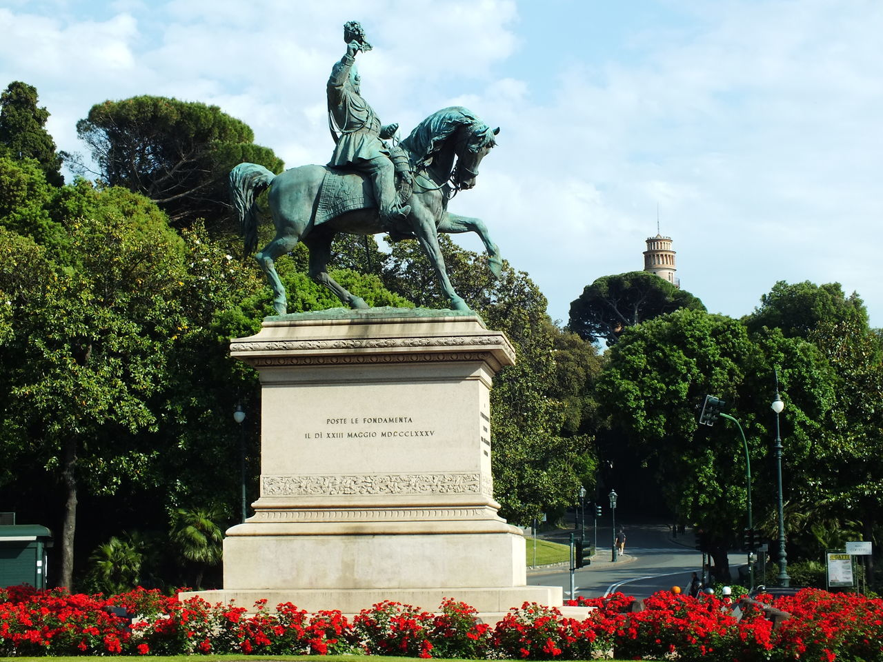 Art Famous Place Genoa Genova History Italia Piazza Corvetto Sculpture Statue No Filter, No Edit, Just Photography