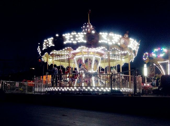 Photography In Motion Carrousel Merry Go Round Razzle Dazzle Galloper Colorful Light And Shadow Night Light In The Darkness Things I Like