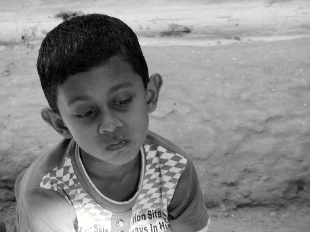 Natural Light Portrait Village Life Boy Lost In Thought... First Eyeem Photo