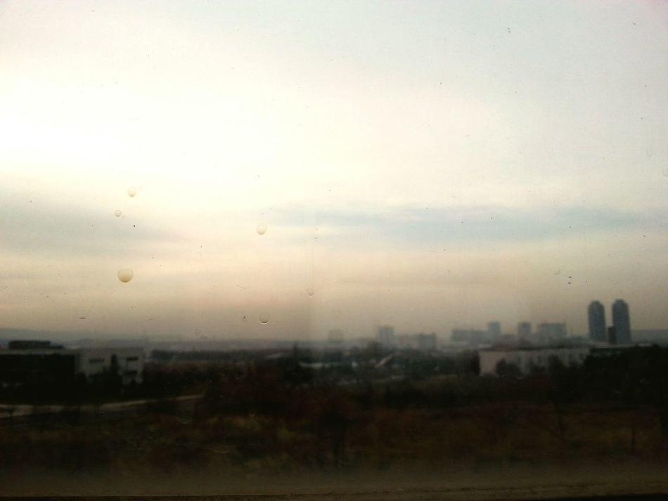 Bright lights, big city. Window Fogy Pencere Analogue