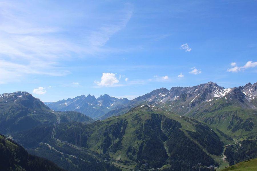 Alpenroseweg Mountain View