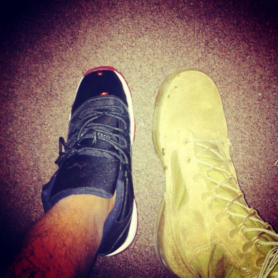 My Marine Boots Over My Jays Any Day ✊