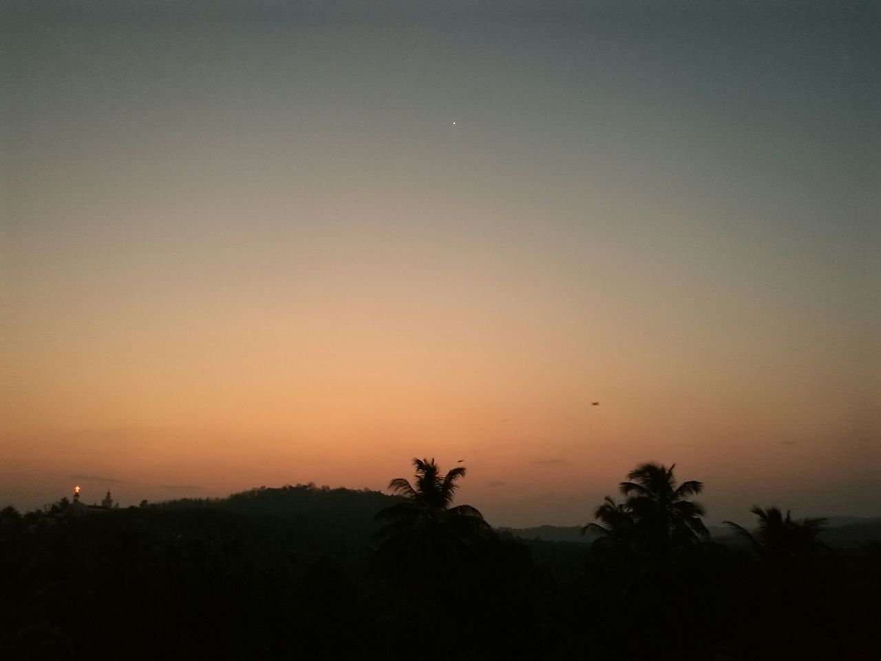 Sunset Silhouette Tree No People Nature Beauty In Nature Sky Outdoors Tranquil Scene Eyemmarket Kerala