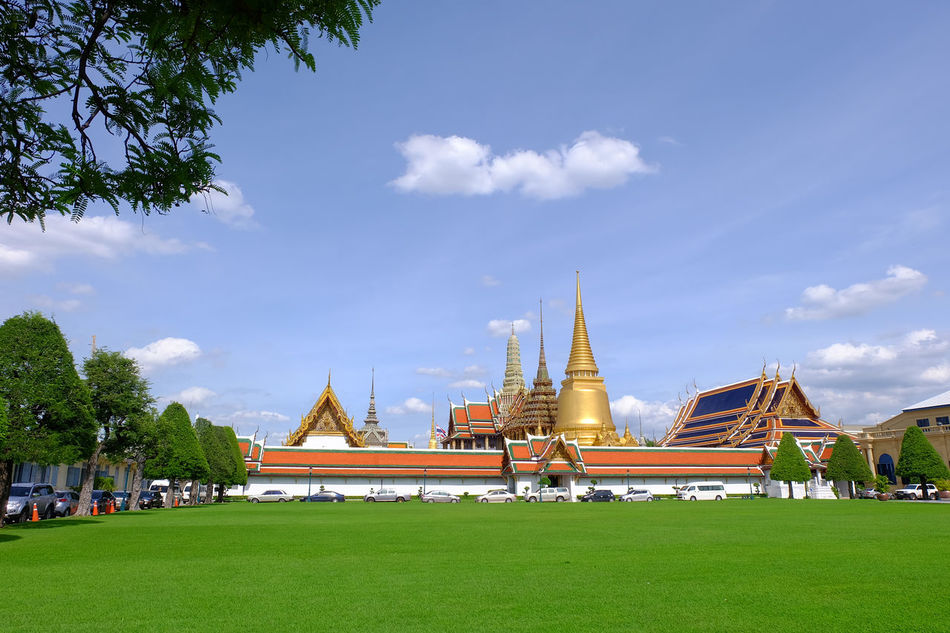 Wat Phra Kaeo temple , landmark of Thailand Ancient Architecture Art Building History Landmark Old Religion Royal Royal Palace Temple Thai Architecture Thai Art Wat Phra Kaeo