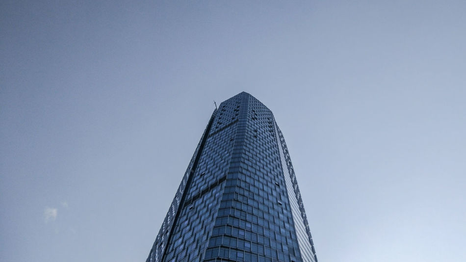 Low Angle View City Sky Modern Architecture No People Outdoors Weekend ♥ MIphotography