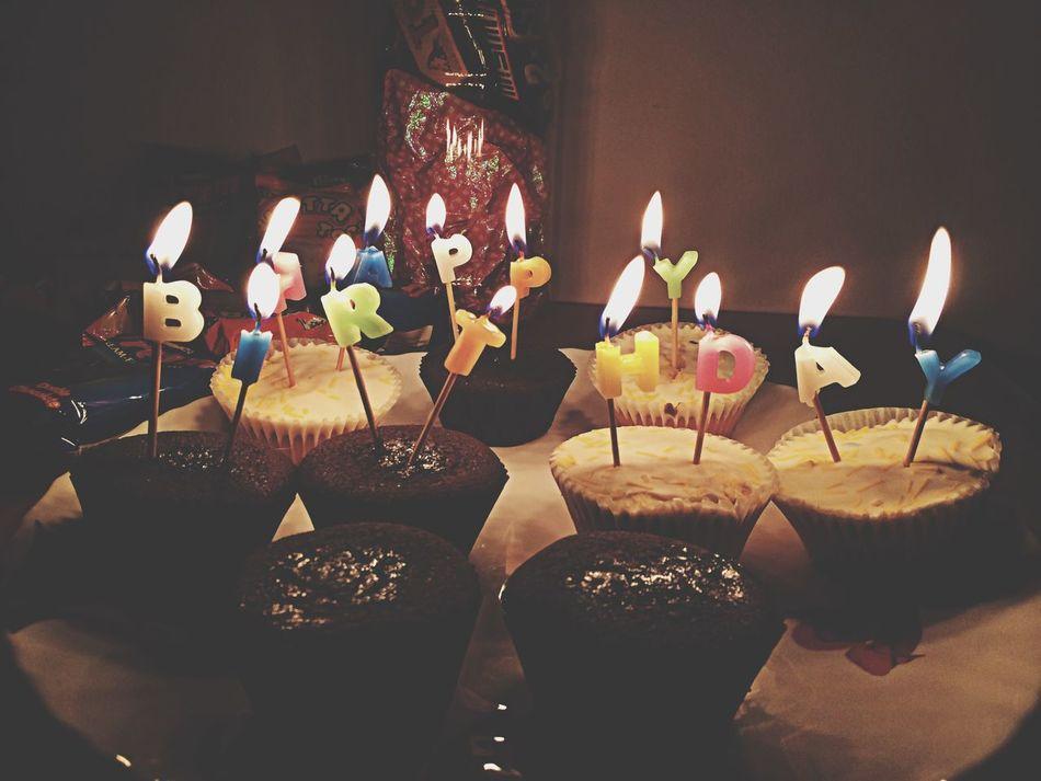 Beautiful stock photos of birthday cakes, Birthday, Candle, Close-Up, Cupcake