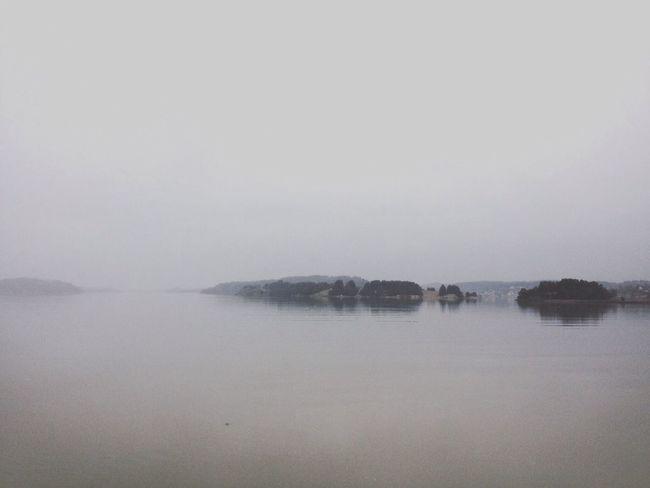 Nature Sea Islands Fog