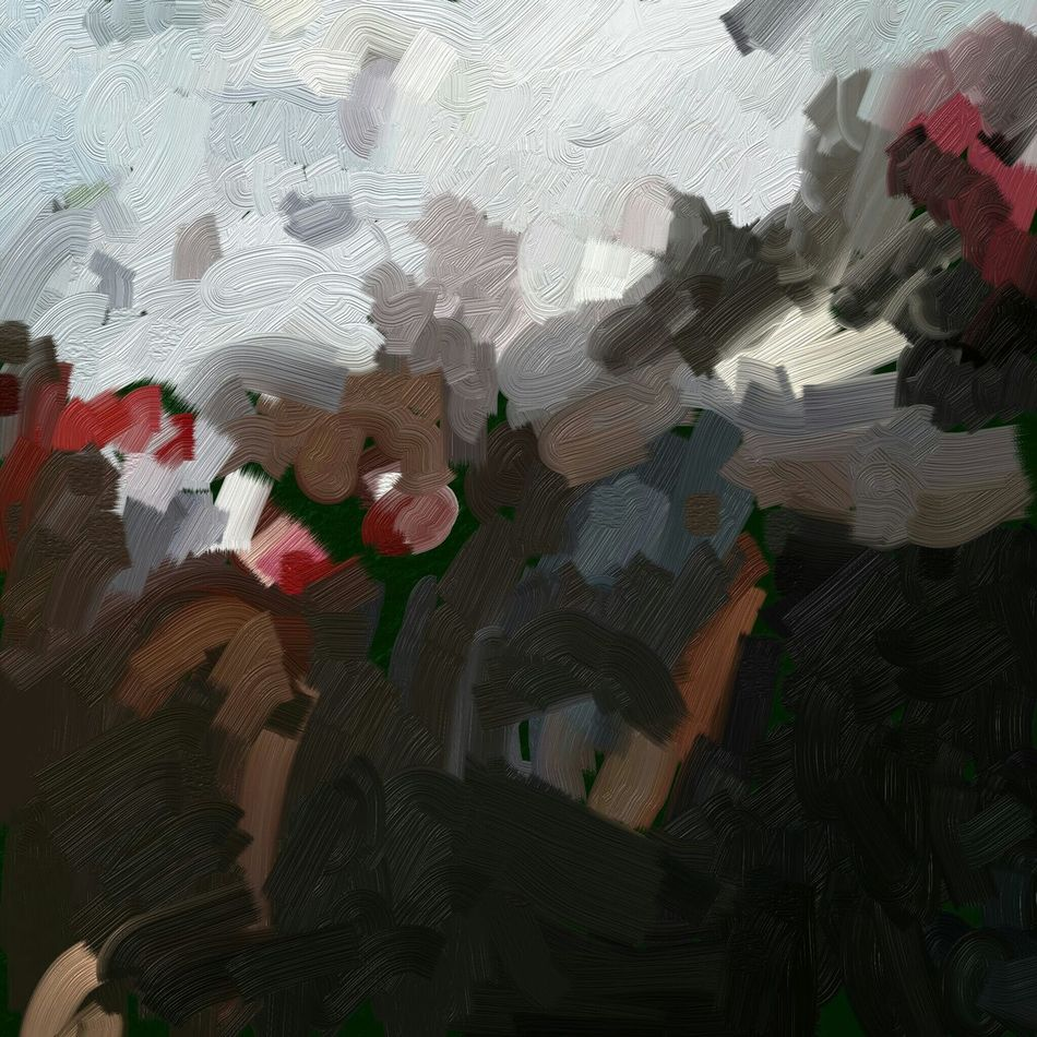 La chute de la nouvelle Hello World New Reality Pure Beauty Digital Painting Digital Art Impressionism Les Sables-d'olonnes Volcano Ymoart YMO