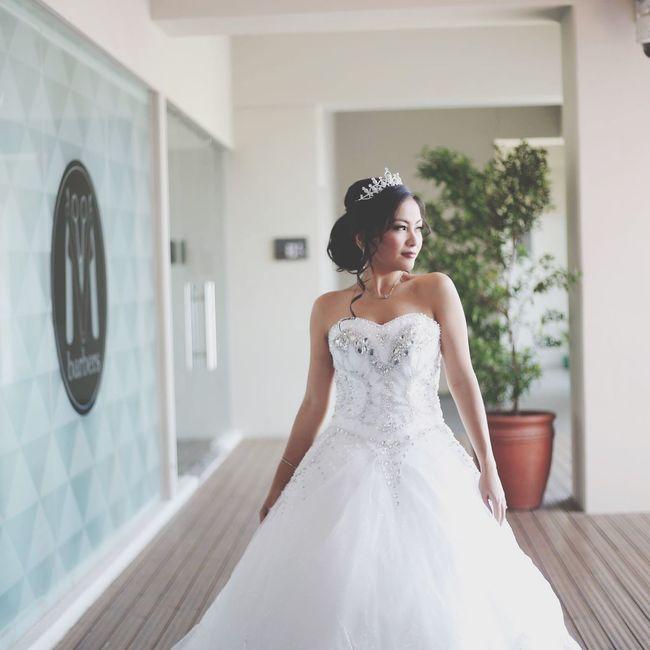 a beautiful, blessed day 💜 JonAndPolaBuildAnEmpire Bride Wedding Wedding Photography