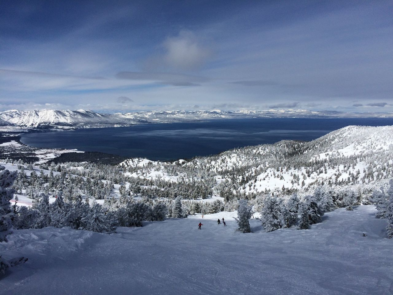 Historic Record Winter Lake Tahoe, California. 13 Meter/40 feet of Snow. A winter wonderland! Best skiing ever. Snow Cold Temperature Winter Beauty In Nature Tranquil Scene Landscape Sierra Nevada Mountains IPhone 5 Photography Beauty In Nature Heavenly Ski Resort