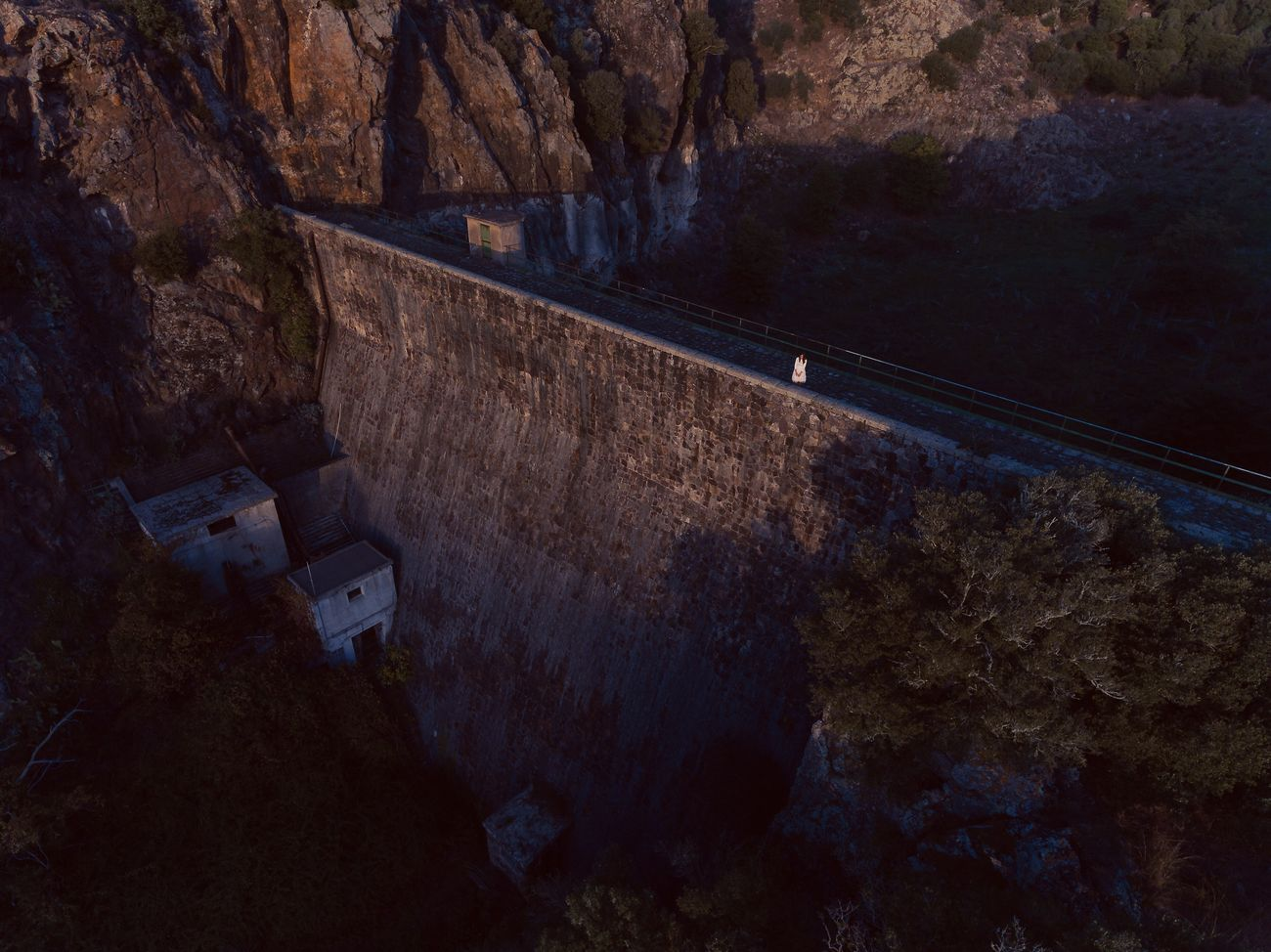 Perspective of an end. Marta, 2016. Dam End Sunset Flying High Adventure Winter Landscape Abandoned Abandoned Places Earth EyeEm Nature Lover Portrait EyeEmNewHere Drone  Dronephotography Sardegna EyeEm Best Shots EyeEm Gallery Isolated Portrait Of A Woman Outdoors Flying High EyeEmNewHere