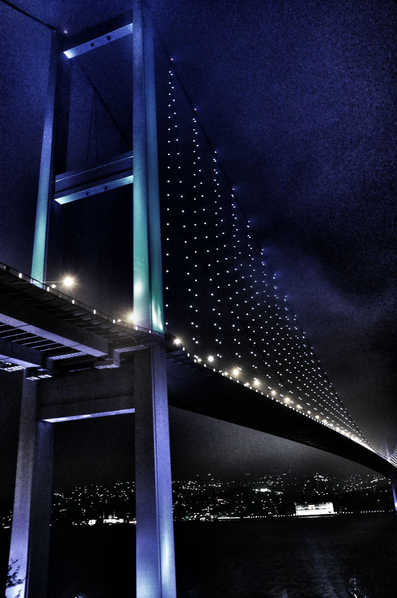 ıstanbul, Turkey Bogazici Koprusu Gece Helloword #photography