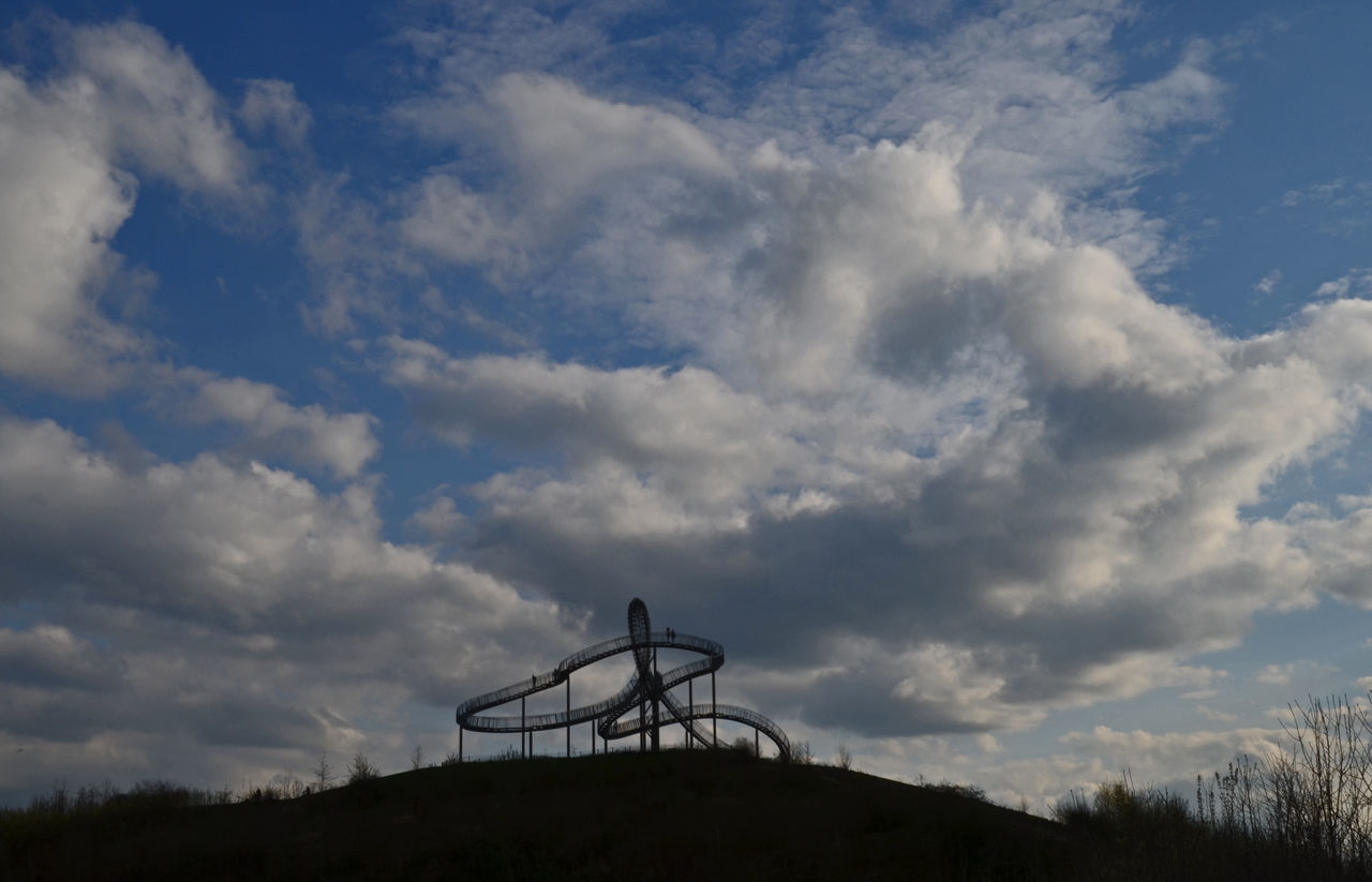 Built Structure Cloud Cloud - Sky Cloudy Dramatic Sky Duisburg Low Angle View Scenics Sculpture Silhouette Sky Ruhrgebiet Tiger And Turtle Tranquil Scene Tranquility Industriekultur Ruhrpott Ruhrtourismus Tiger & Turtle Tigerandturtle Architecture