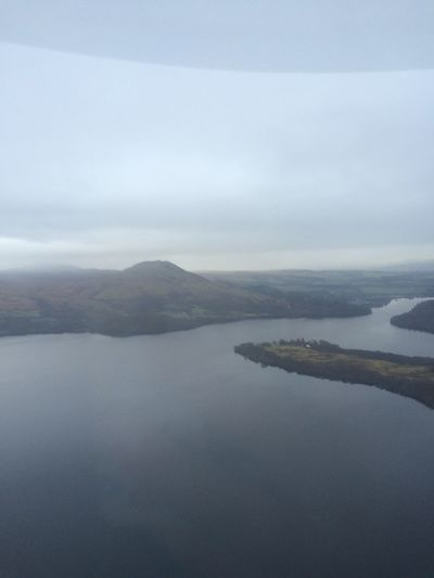 Seaking Mk4 Aerial Shot Lake View Scottish Highlands