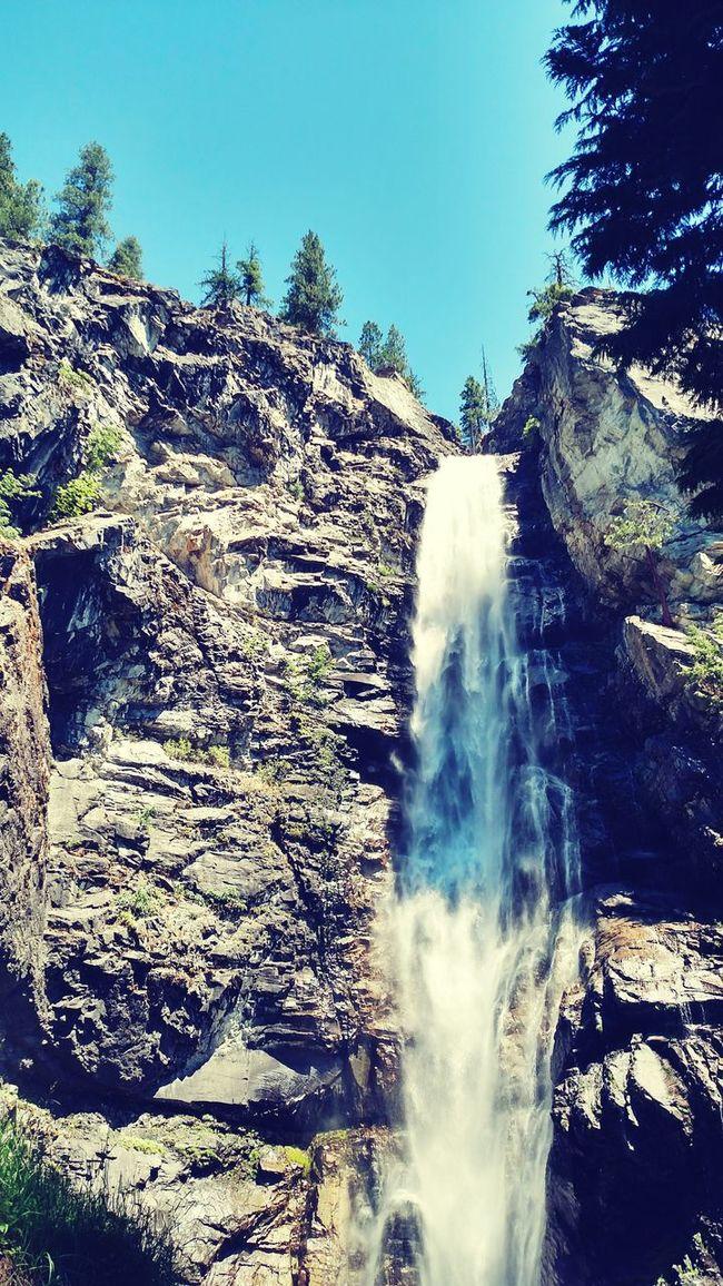 Stehekin Babyfalls Waterfall Iminawe