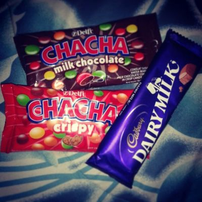 All about chocolate ChaCha Dairymilk Favorite