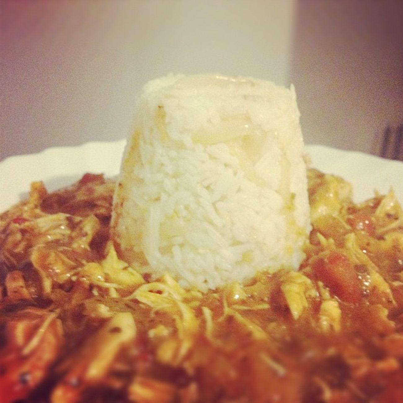 Chicken Balti Curry Garlic rice iphone iphone4s instagram