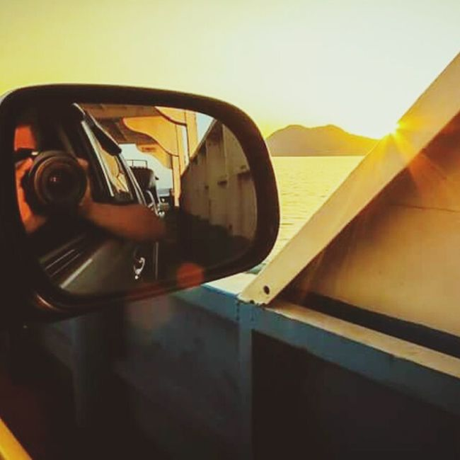 Sunset Sun Ferry Trat Koh Chang Ko Chang Kohchang Selfie ✌ Self Portrait Sea Sick