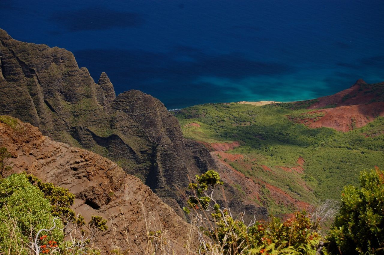 Naturelovers Landscape Beauty In Nature Nature Outdoors EyeEm Nature Lover Paradise Mountain Coastline Landscape_Collection Senic Nature Photography Nikon Hawaii Kauai