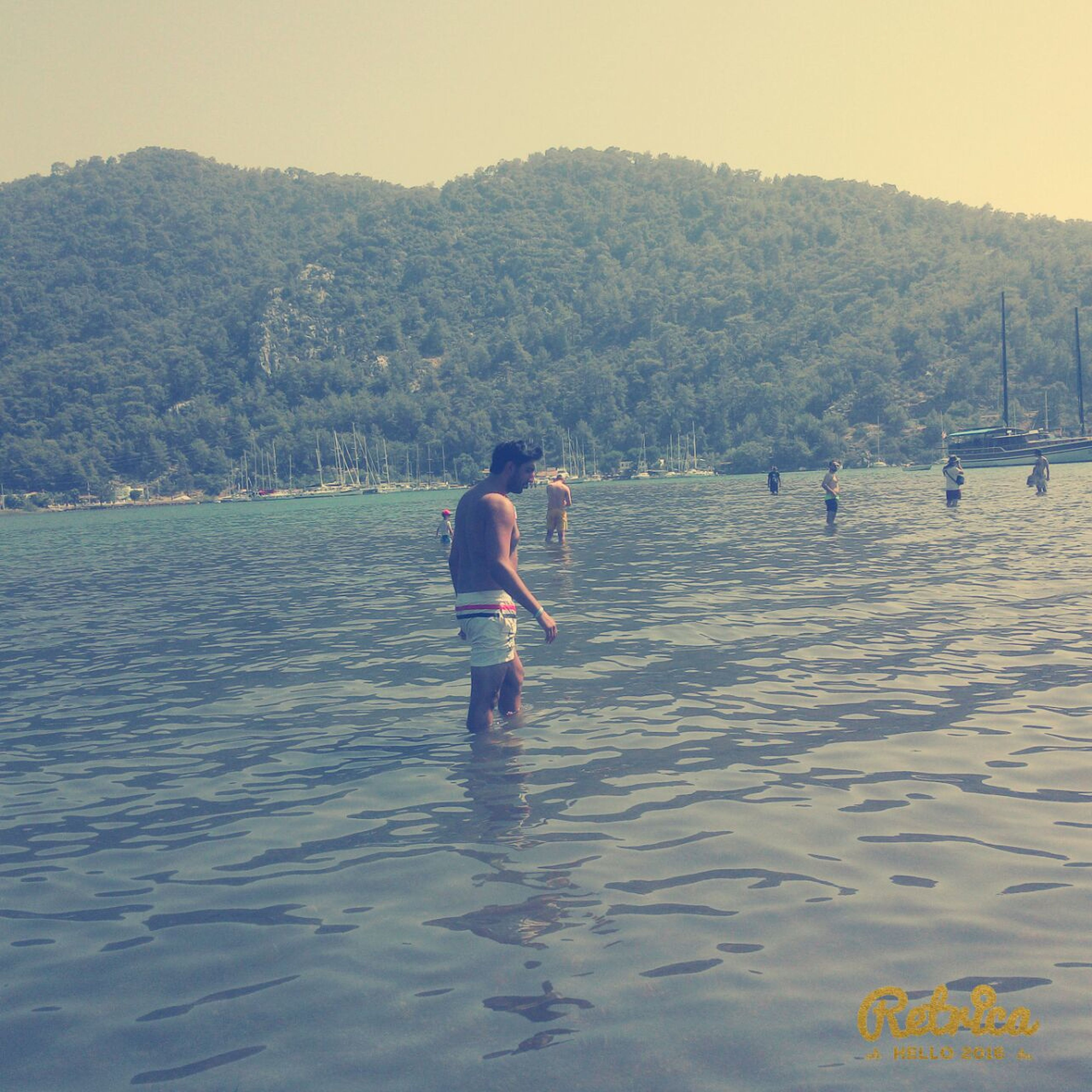 Marmaris Kizkumubeach Beauty In Nature Only Men Floating On Water Water Lake Young Adult People Nature Reflection Adults Only Adult Full Length One Person Vacations Outdoors One Man Only Day First Eyeem Photo
