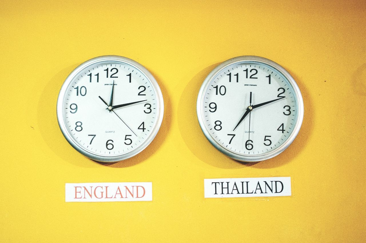 Beautiful stock photos of time, Bangkok, Built Structure, Clock, Communication