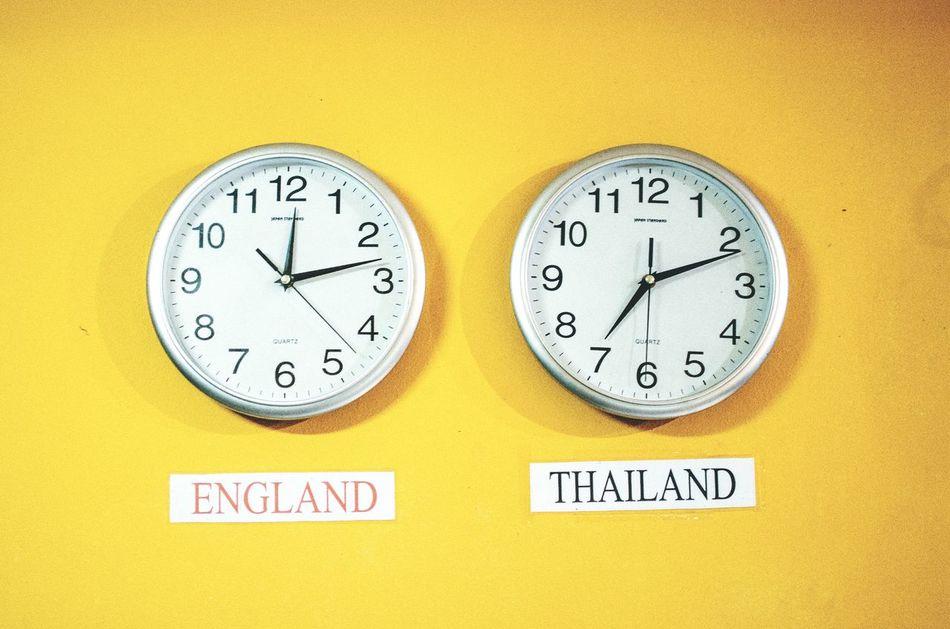 Beautiful stock photos of time, Bangkok, Built Structure, Clock, Communication