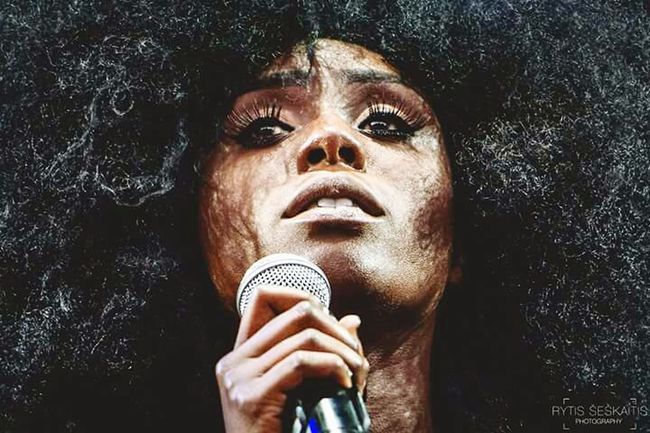 Laura Mvula Musician Music Photography  Stage Photography Positivus For The Love Of Music Open Edit Artist Eyes The Portraitist - 2015 EyeEm Awards Let Your Hair Down Music Brings Us Together