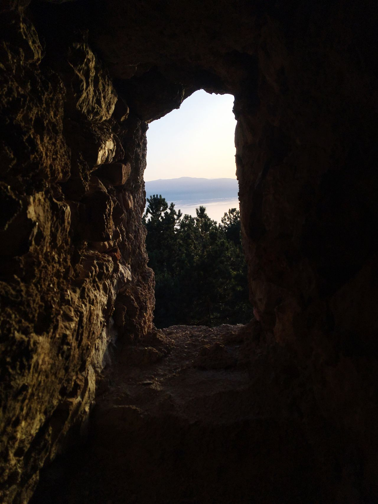 View from Ohrid Castle Cloud - Sky Stone Walls Beauty In Nature Lake View Sunset Light